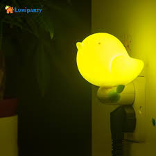 dusk to dawn light control lumiparty lovely bird shape design smart dusk to dawn light control
