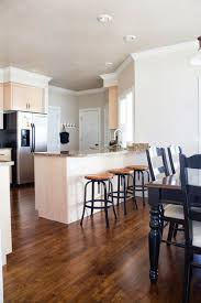 kitchen flooring walnut hardwood brown kitchens with floors light