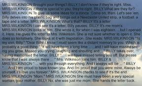 letter to mom from billy elliot inspiration pinterest mamma