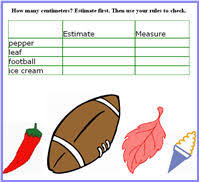 math lesson plans on estimate and measure capacity 1st grade