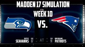 seahawks thanksgiving game madden 17 week 10 sunday night seattle seahawks vs new