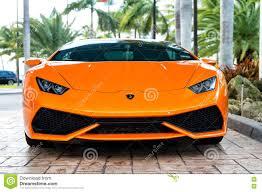 lamborghini sport orange sport car lamborghini aventador editorial image image