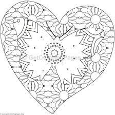 butterfly heart colouring pages free printable u2013 getcoloringpages org