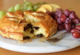 baked brie en croûte with honey dried cherries rosemary pecans