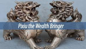pixiu statue pixiu the wealth bringer myhtological creatures cryptids guide