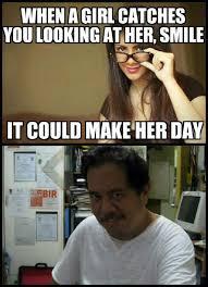 Funny Smile Meme - make her day