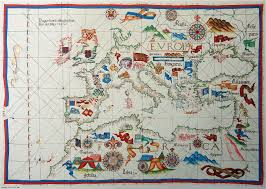 Europe And Africa Map by Portolan Chart Of Europe And Northern Africa By Diogo Homem 1563