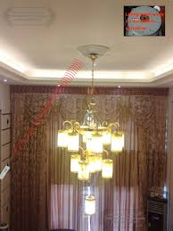 Chandelier Winch 100kg 8m Wall Switch Remote Chandelier Hoist Lighting