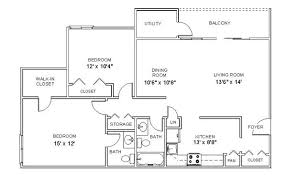 two bedroom two bath apartment floor plans interesting decoration apartment floor plans 2 bedroom den two