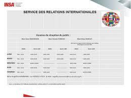 bureau des relations internationales contacts du service des relations internationales insa strasbourg