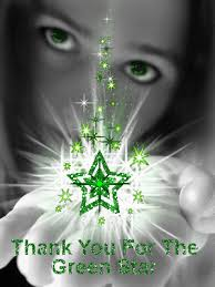 Thank you for the green star,