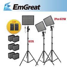 cheap studio lights for video aputure amaran hr672w hr672s led video studio light cri95