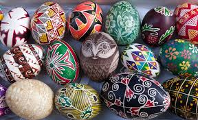 ukrainian easter eggs ukrainian easter eggs pysanky handwork stock photo picture and