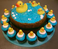 rubber duckies cake and cupcakes baby shower ideas pinterest