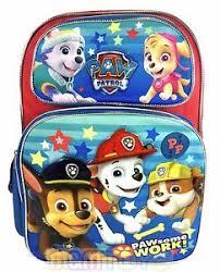 nickelodeon paw patrol large backpack 16