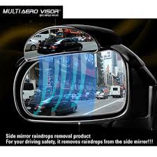 Best Blind Spot Mirror Qoo10 2pcs Multi Aero Visor Side View Blind Spot Mirror Rain