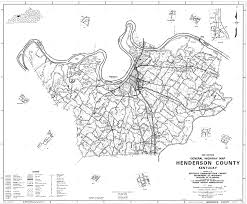 Henderson Colorado Map by State And County Maps Of Kentucky