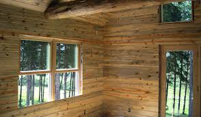 blue stained pine wood paneling buffalo lumber