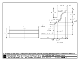 Large Cornice Trustmark Bank In Millington Tncad Files Download Dwg And Pdf