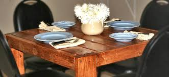 Wood Plans For Small Tables by Ana White Square Modern Farmhouse Table Diy Projects