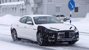 2016 maserati ghibli msrp maserati ghibli spy photos show car is happy to be out of snow
