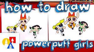 draw powerpuff girls