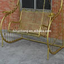 outdoor patio balcony adults metal porch wrought iron swing chair