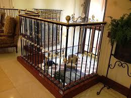 metal stair railing ideas stair railing ideas design