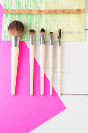 create an affordable brush collection hairspray and highheels