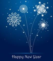 new years card happy new year blue card happy new year sms