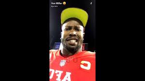 Pro Bowl Orlando by Von Miller Nfl Live Pro Bowl Orlando 2017 Having Fun With Odell