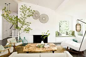 asian themed living room floor vase with branches for asian themed living room