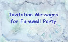 farewell party invitation sle invitation messages for farewell party to colleagues at