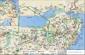 boston tourist attractions map planning guide and route map