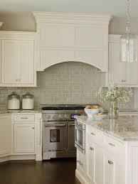 Kitchen Cabinet Backsplash See The Beautiful Neutral Subway Tile Backsplash In This Kitchen