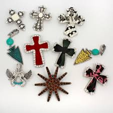 wholesale cross necklace pendants images Magnetic jewelry wholesale western theme jewelry rhinestone jpg
