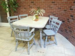 shabby chic round dining table shabby chic cream dining table and chairs coma frique studio
