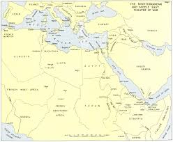 Map Of Mediterranean Sea Hyperwar The Mediterranean U0026 Middle East Vol I Uk Military Series