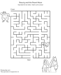 printable disney mazes disney u0027s world of wonders