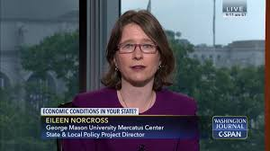 george mason transfer guide washington journal eileen norcross discusses states u0027 fiscal