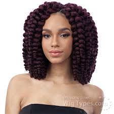 types of freetress braid hair freetress synthetic braid 2x fluffy wand curl wigtypes com