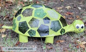 paper mache patchwork turtle u2013 about family crafts