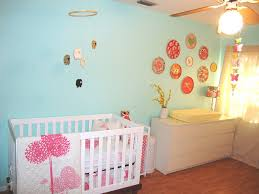 Nursery Decorating by Baby Girl Nursery Decorating Ideas Hanging Chandelier Pink Floral