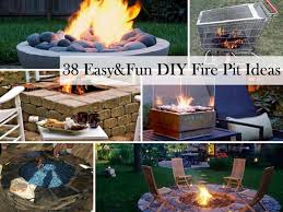 How To Build A Cheap Patio 38 Easy And Fun Diy Fire Pit Ideas Amazing Diy Interior U0026 Home