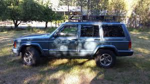jeep comanche roof basket your curt roof rack w extension pic heavy jeep cherokee forum