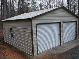 building a 2 car garage steel 2 car garage 24x31 metal building a frame workshop free