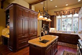 Dark Kitchen Island Kitchen Room 2017 Kitchen Backsplash For Dark Cabinets Dark