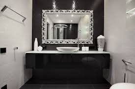 brushed nickel wall mirror bathroom property a home is made of