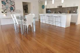kitchen cozy and natural bamboo floor in kitchen designs perfect