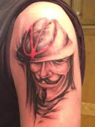 v for vendetta tattoo tattoo collections